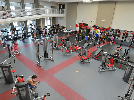 Denison University - Exercise Room Flooring