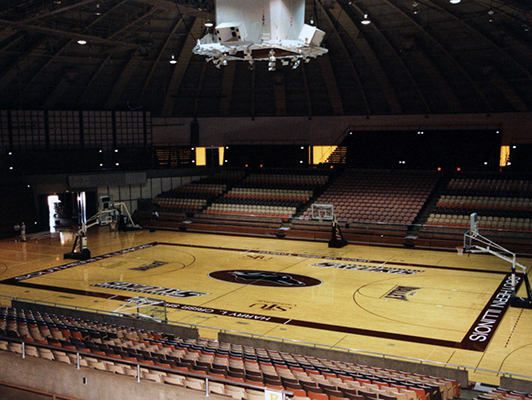 Southern Illinois University - Gym Flooring - Basketball Flooring
