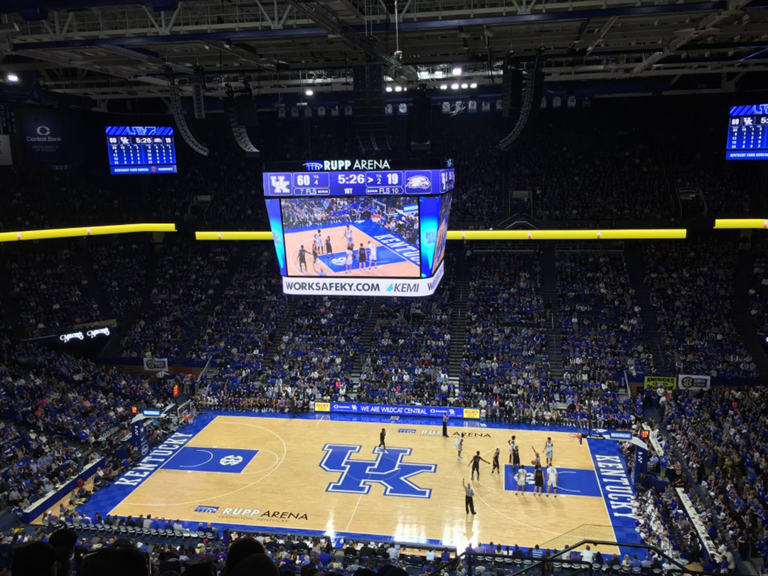 University Of Kentucky - Arena Flooring - Gym Flooring