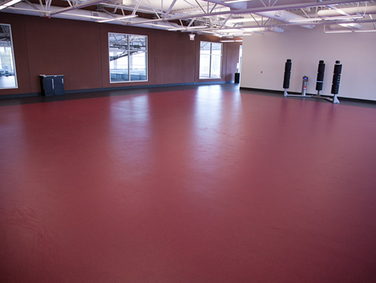 Kroc Community Center - Group Dance Flooring