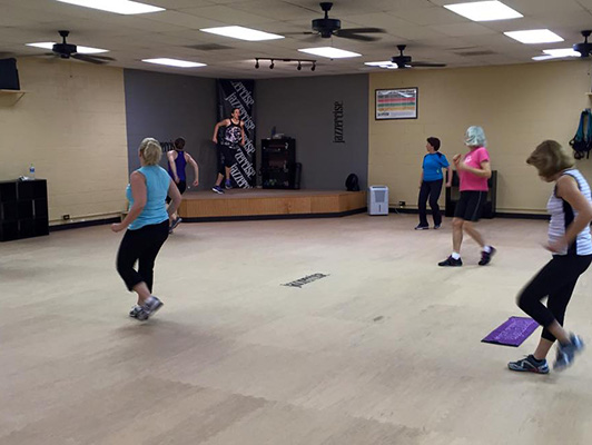 Jazzercise Salem NC - Group Dance Flooring