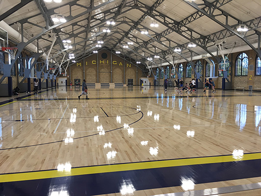 University Of Michigan Rec Center