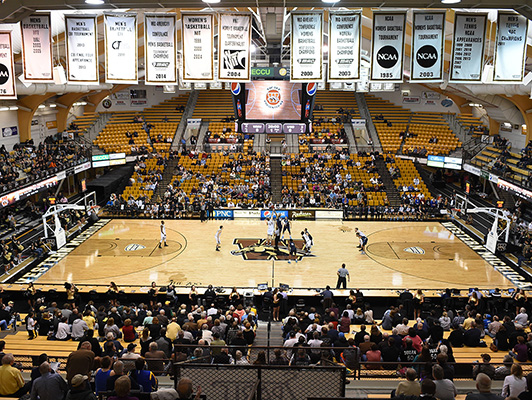 Western Michigan University - Hardwood Gym Floor