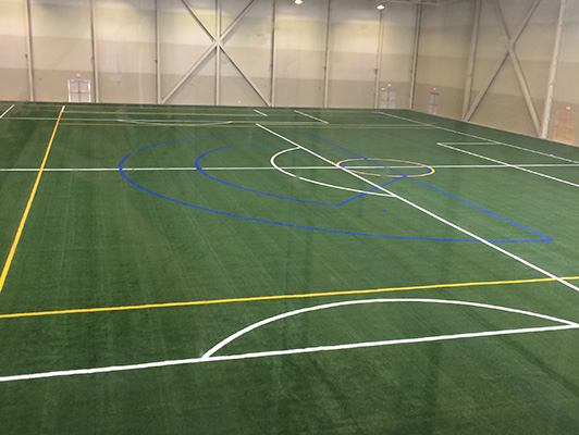 Bielenburg Sports Center Lacrosse Field Turf