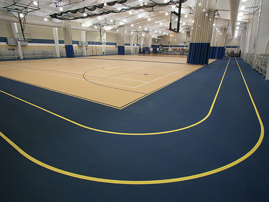 Greensburg High School - Multi Purpose Rubber Flooring