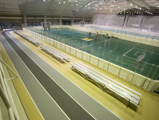 Northern Illinois University - Indoor Sports Flooring