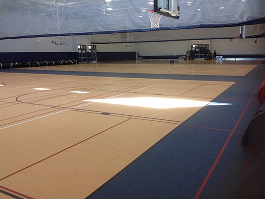 Oswego East High School - Sports Rubber Flooring