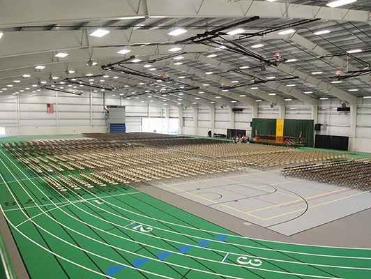 Tiffin University - Indoor Sports Floors