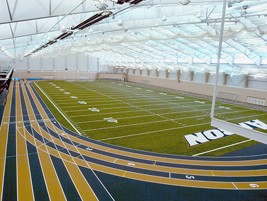 University Of Akron - Indoor Sports Floor