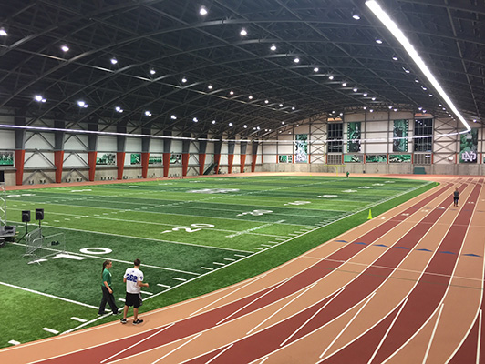 University Of North Dakota - Indoor Sports Floors