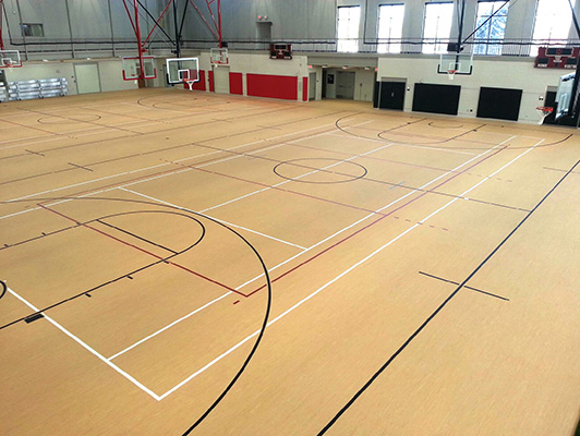 Wabonsee Community College - Indoor Sports Flooring