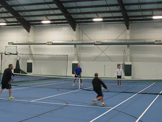 McCleod County Fairgrounds - Tennis Flooring