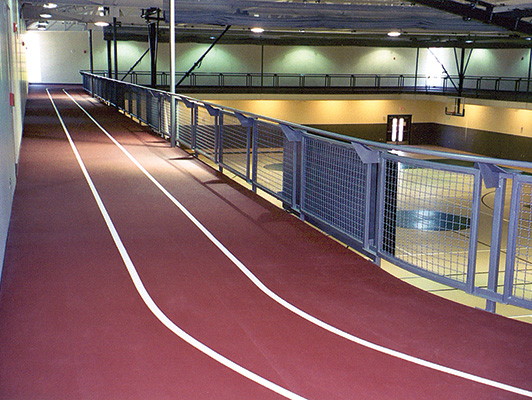 Maryville Comm Center - Recreational Facility Rubber Flooring