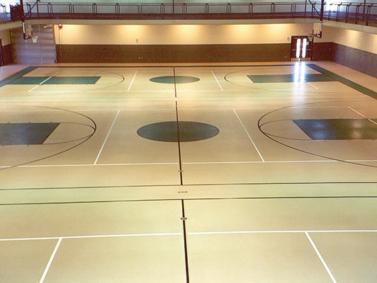 Maryville Comm Center - Indoor Sports Surfaces