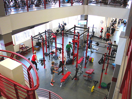Miami University - Workout Room Flooring