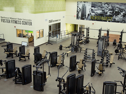 Northwest Missouri State Foster Fitness Floors