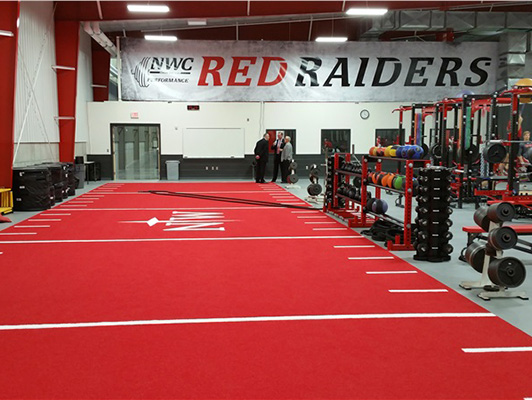 Northwestern College - Exercise Flooring