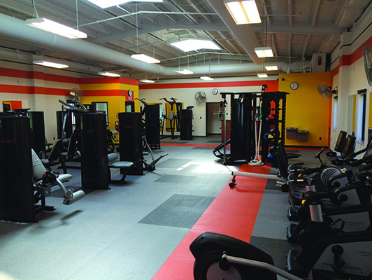 Tennessee Armory - Recreational Facility Flooring