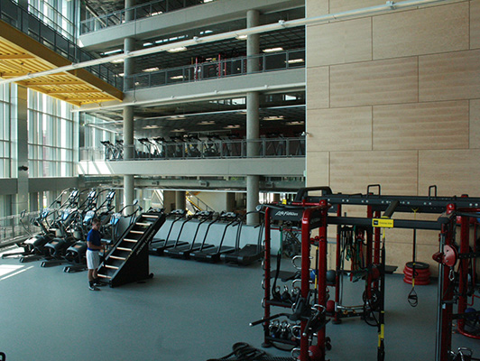 University Minnesota - Fitness Flooring