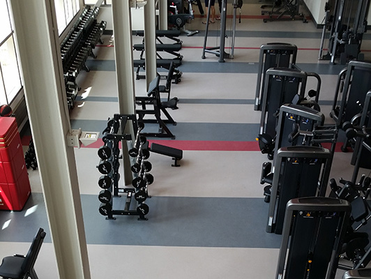 University Nebraska - Recreational Facility Flooring