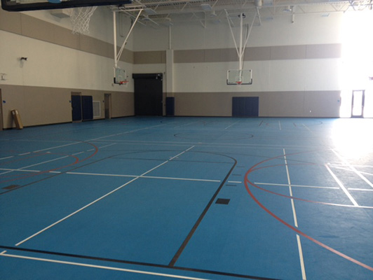 Wadena Center - Rubber Sports Flooring