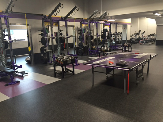 Strength Training Flooring Mankato State University