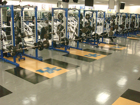 Strength Training Flooring - University Of Kentucky