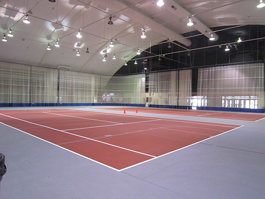 Northern Illinois University Tennis Flooring