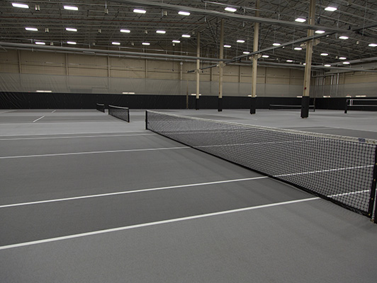 Sentry Insurance Tennis Flooring