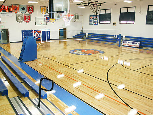 Volleyball Flooring Cisne High School