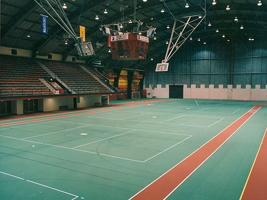 Illinois State University Volleyball Flooring
