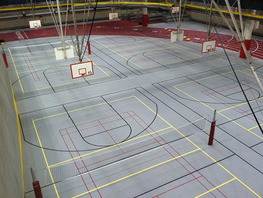 Iowa State University Volleyball Flooring