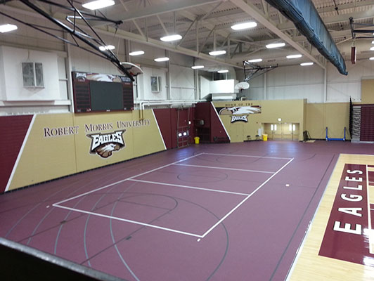 Robert Morris College Volleyball Flooring
