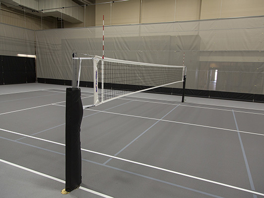 Sentry Insurance Fieldhouse Volleyball Flooring