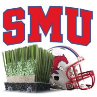 SMU Football Chooses Mondoturf's FTS3 Artificial Turf System
