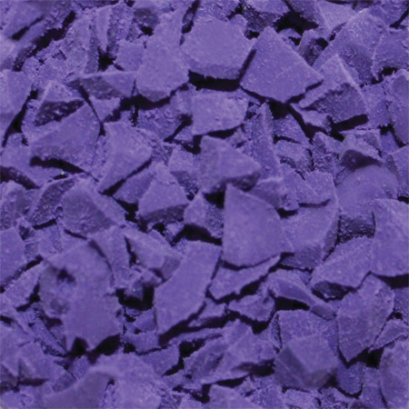 ColorFlex Rubber Flooring Purple