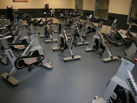 Joliet Park District Cardio Fitness Flooring