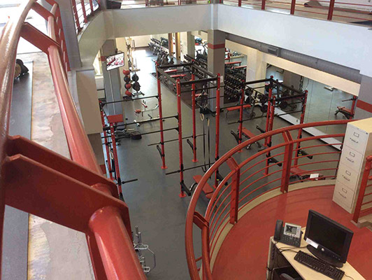 Miami University Cardio Fitness Flooring