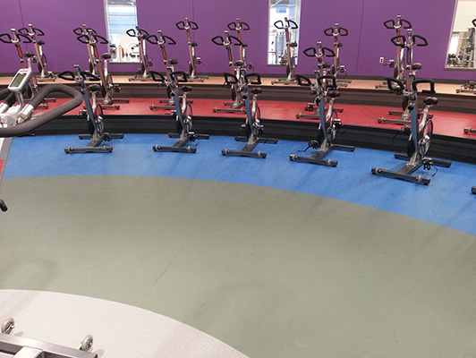 Wellmark YMCA Cardio Fitness Flooring