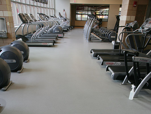 University Of Dayton Cardio Fitness Flooring