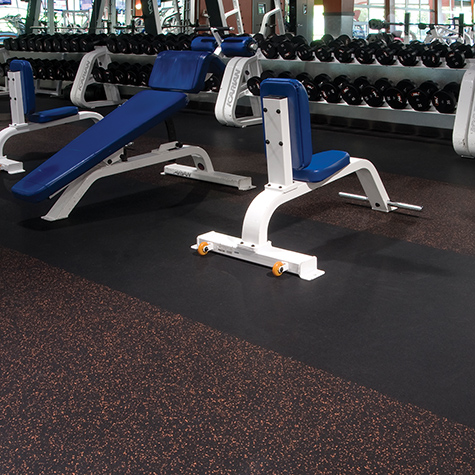 Tuff-Lock - Economical Rubber Flooring