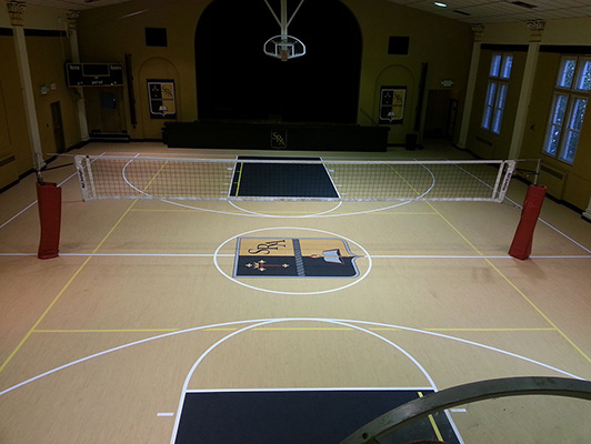 Volleyball Flooring - Saint Raphael School