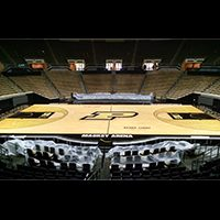 The Mackey Arena Wood Floor Received A Facelift During The Offseason