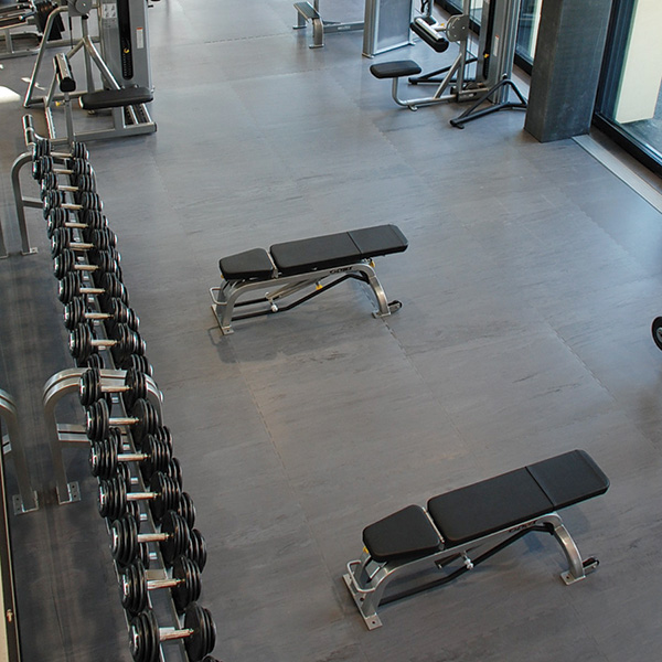 FitZone Weight Room Flooring