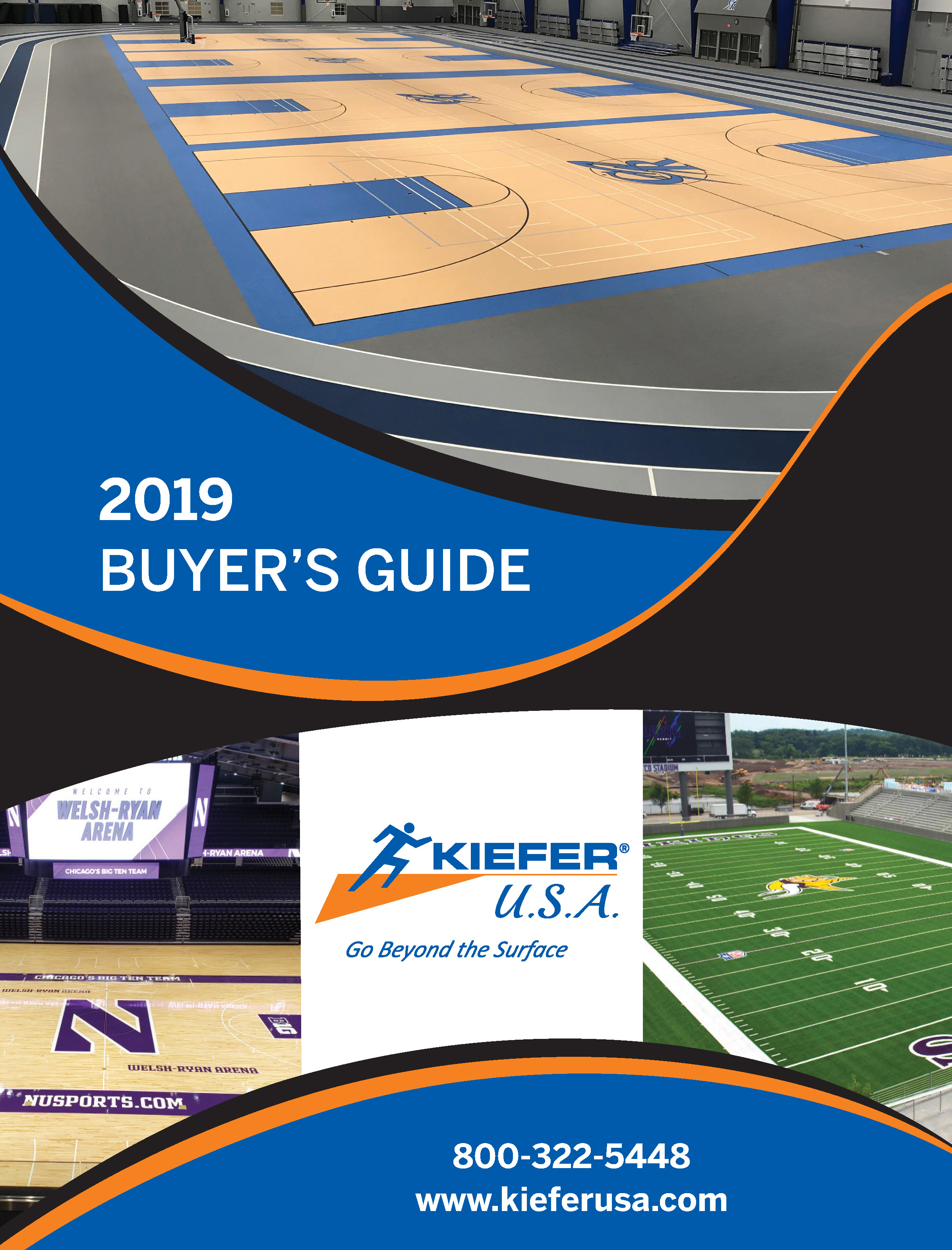 2019 Kiefer USA Catalog Cover