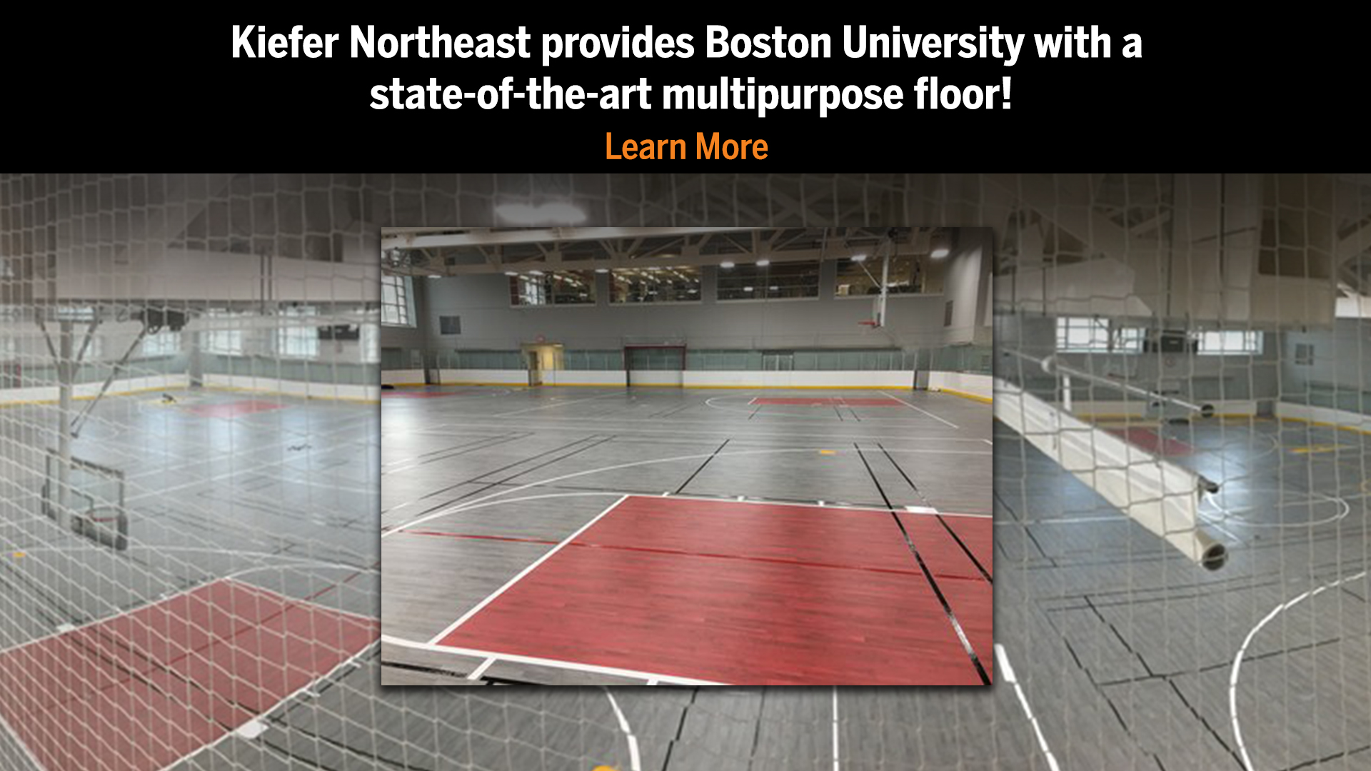 Boston University Lumaflex Flooring by Kiefer Northeast